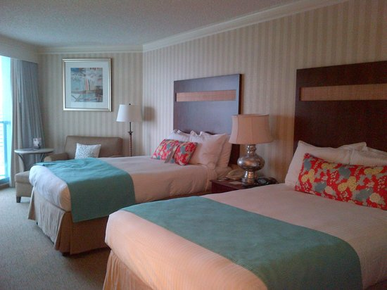 Omni Corpus Christi Hotel: Double Queen Beds