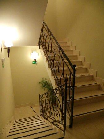 Casino Hotel Carnevale Wellness & Spa: stairs