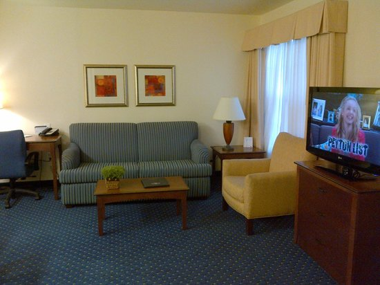 Residence Inn Laredo Del Mar : sitting area