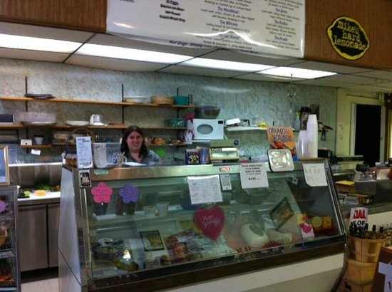 North Side Memories: Inside, Sarah ready to serve great stuff!