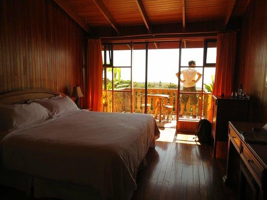 Hotel Belmar:                   our room