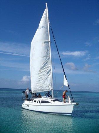 Roatan Sailing with Captain Alex