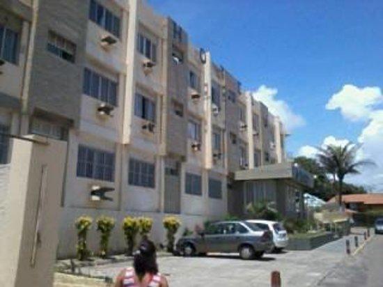 Patamares Praia Hotel :                   FACHADA DO HOTEL