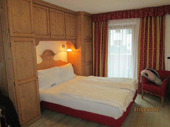 Hotel Marmolada: la nostra camera