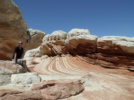 Savage Point Bed & Breakfast: White Pockets, in S Coyote Buttes is astounding