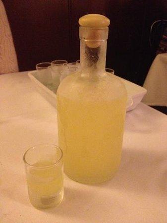 Ristorante Da Fabio: great limoncello.