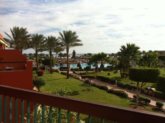 Coral Sea Holiday Village:                   view from room in block 5