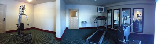 Flying Saddle Resort: Fitness area