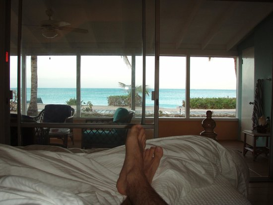 Cape Santa Maria Beach Resort & Villas:                                     The view from our room