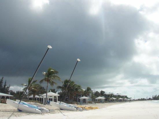 Cape Santa Maria Beach Resort & Villas:                                     Walking the beach