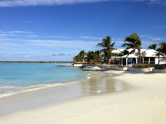 Cape Santa Maria Beach Resort & Villas:                                     Walking the beach