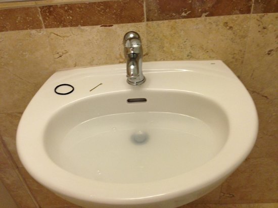 Porto Vista Hotel:                   Our sink