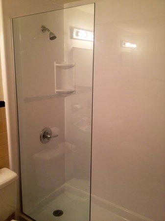 Venezia Hotel:                   shower