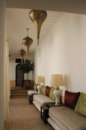 Riad Al-Bushra:                   Private area