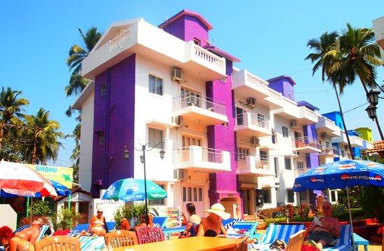 Resort Village Royale:                   One of the bedroom blocks