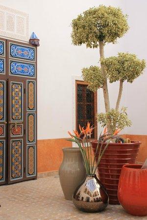Riad Al-Bushra:                   Courtyard