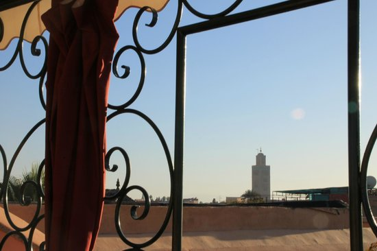 Riad Al-Bushra:                   View over Marrakech
