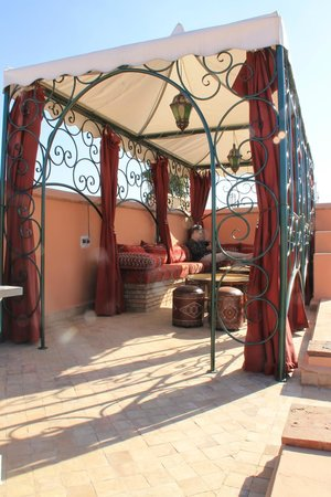 Riad Al-Bushra:                   Roof Terrace