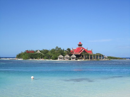 Sandals Royal Caribbean Resort and Private Island:                   Private Island including Royal Thai Restaurant