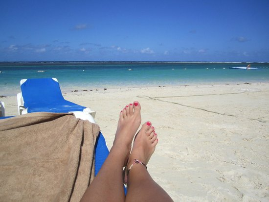 Sandals Royal Caribbean Resort and Private Island :                   Relaxation!!