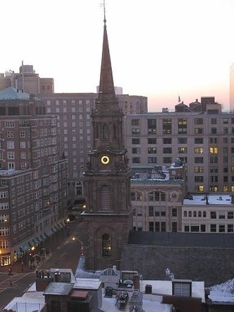 Taj Boston: View from my room at the Taj