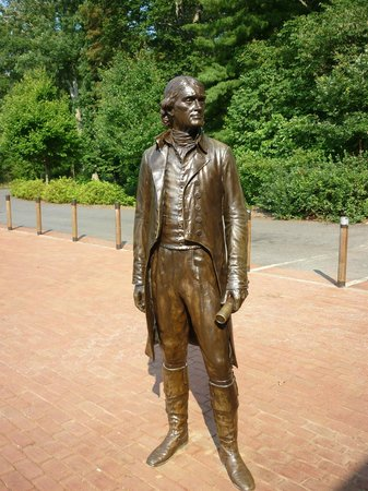 Thomas Jefferson'un Monticello'su: Jefferson