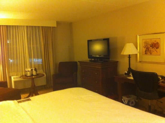 Sheraton Providence Airport Hotel: TV sitting area view