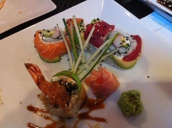 Sushi Ole: el salmón y el Atún q no falte!