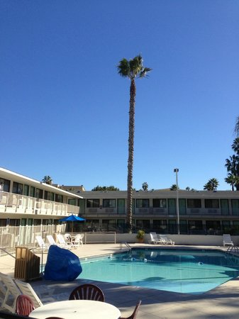 Motel 6 San Diego Hotel Circle- Mission Valley : Poolbereich