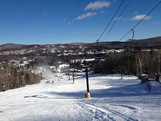 Mount Snow Resort:                   Tumbleweed lift