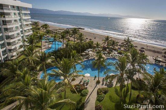 View from a 6th floor room at the Sea Garden fotografa de Sea