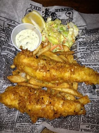 The Shamrock Irish Pub & Eatery: Fish and Chips