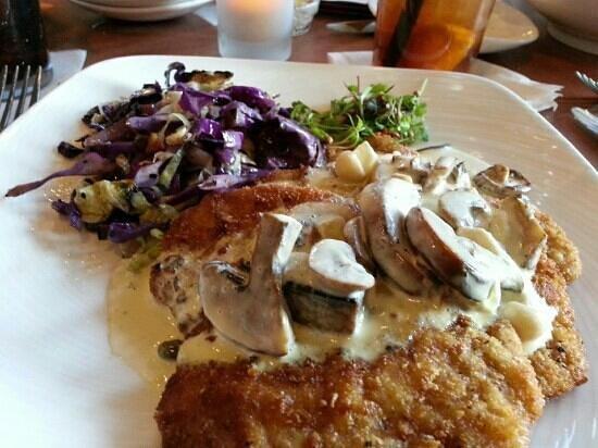 Michael Anthony's at The Inn: Pork Schnitzel!!