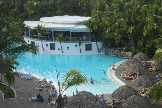 Hotel Riu Naiboa: vue balcon