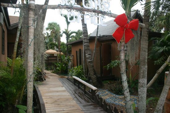 Kona Kai Motel:                   walkway