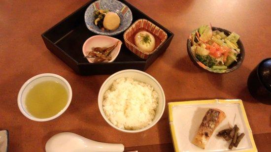 Sosennoyado Suhaku: 朝食