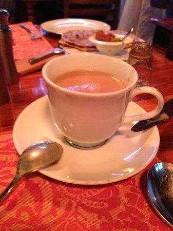 شانتي هوم:                   chai malasa                 