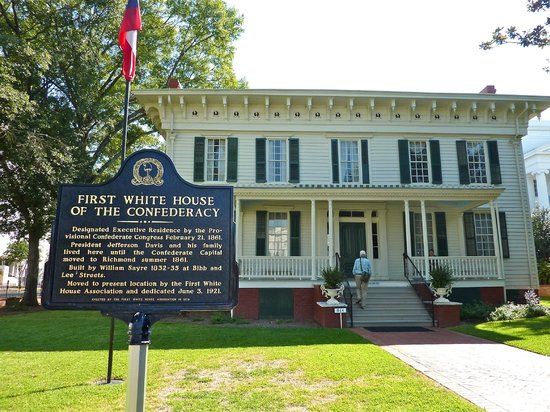 Montgomery Visitors Center:                   First Confederate White House