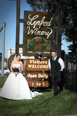 Lynfred Winery Bed & Breakfast:                                                       Lynfred Wedding