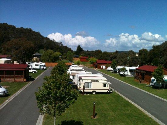 Latrobe, ออสเตรเลีย: Park Grounds