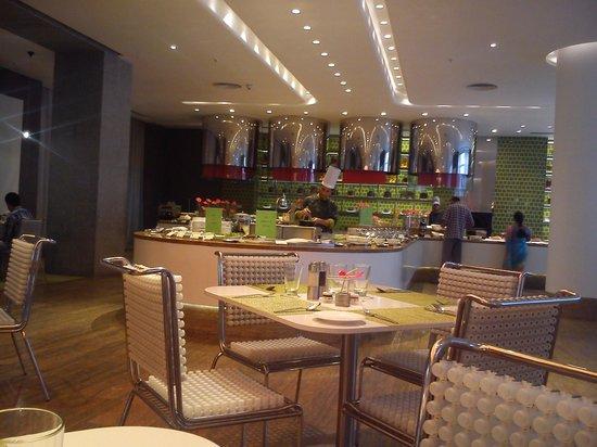 Hotel Avasa:                   Common Dining/Breakfast