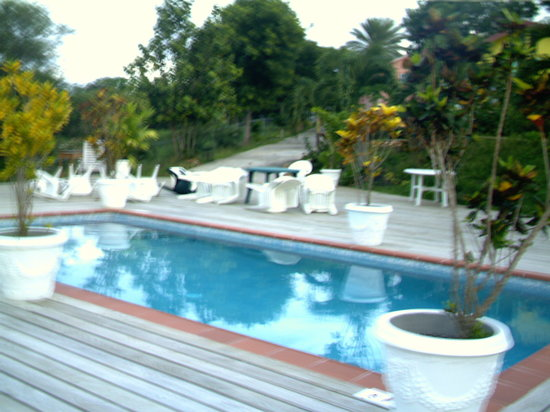 Oceanic View Exclusive Vacation Cottages: Pool side