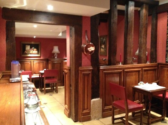 Left Bank Saint Germain:                   Breakfast rooms