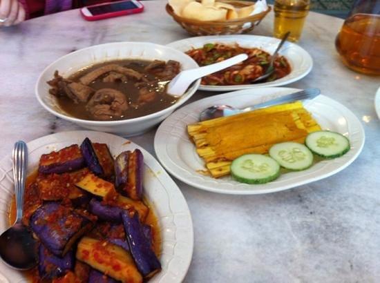 Big Nonya: Branji, Chicken, Otah & Patie with Squid