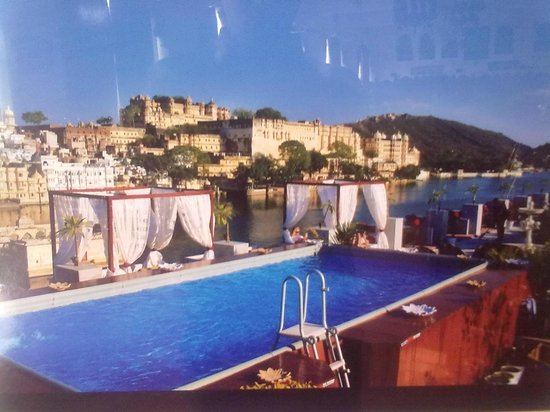 The terrace swimming pool picture of lake pichola hotel udaipur tripadvisor for Hotel in udaipur with swimming pool
