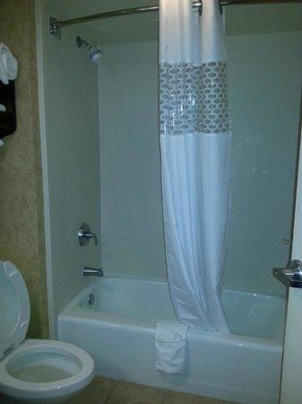 Baymont Inn & Suites Indianapolis East: Clean, large bathroom