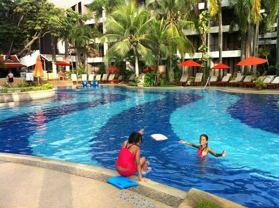Siam Bayshore:                   Pool area