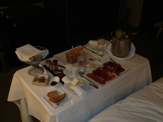 Sofitel London St James:                   Room Service Xmas Day