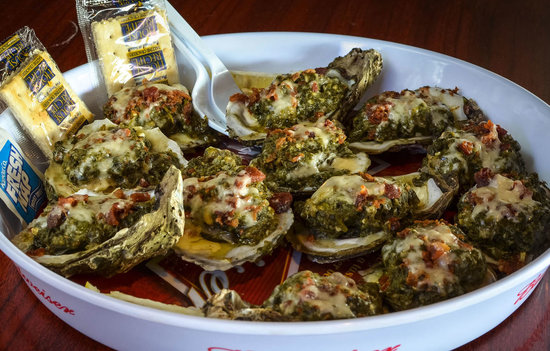 how to cook oysters without shell in oven