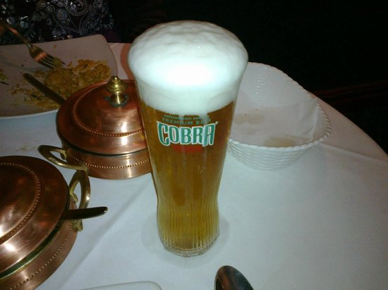 Dilruba Restaurant:                   A good pint